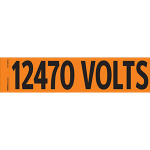 """12470 Volts"" Markers"