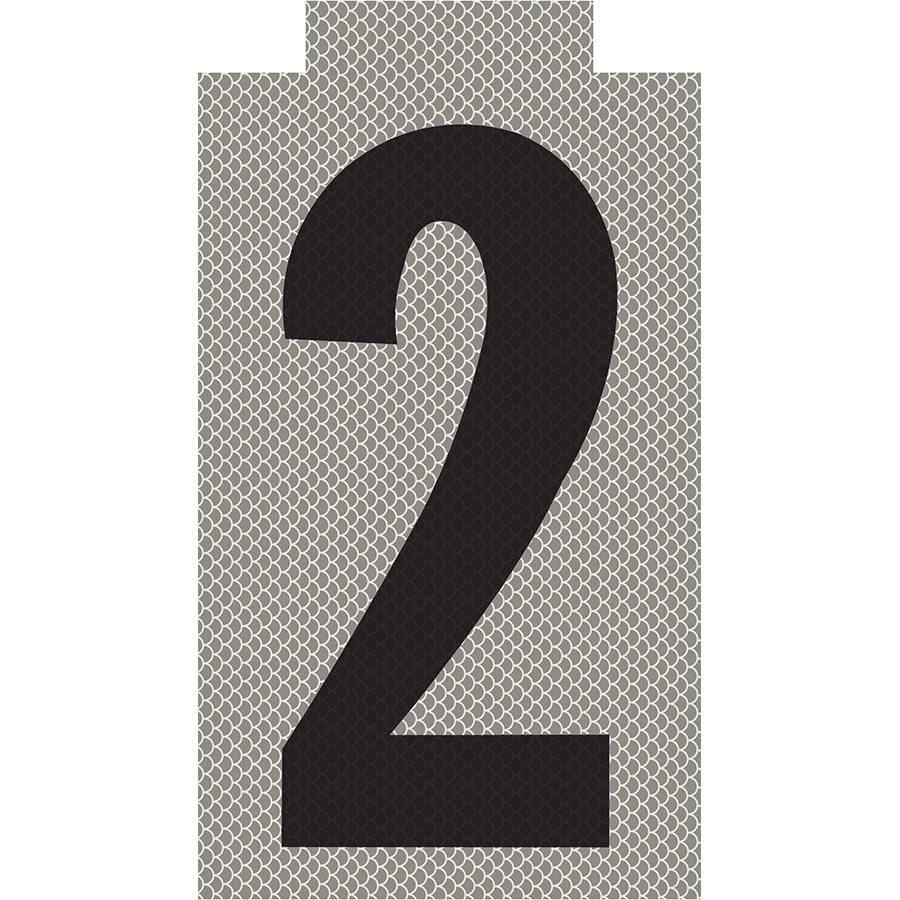 """2"" Phase Reflective Label"