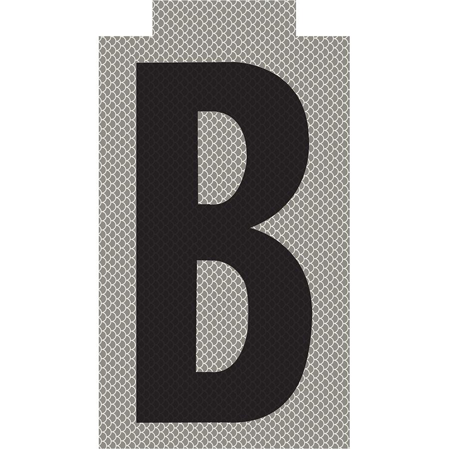 """B"" Phase Reflective Label"