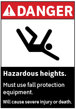 ansi-compliant-fall-protection-equipment-sign