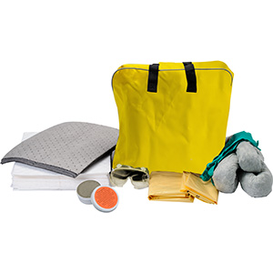 Over-the Shoulder Vehicle Spill Kit