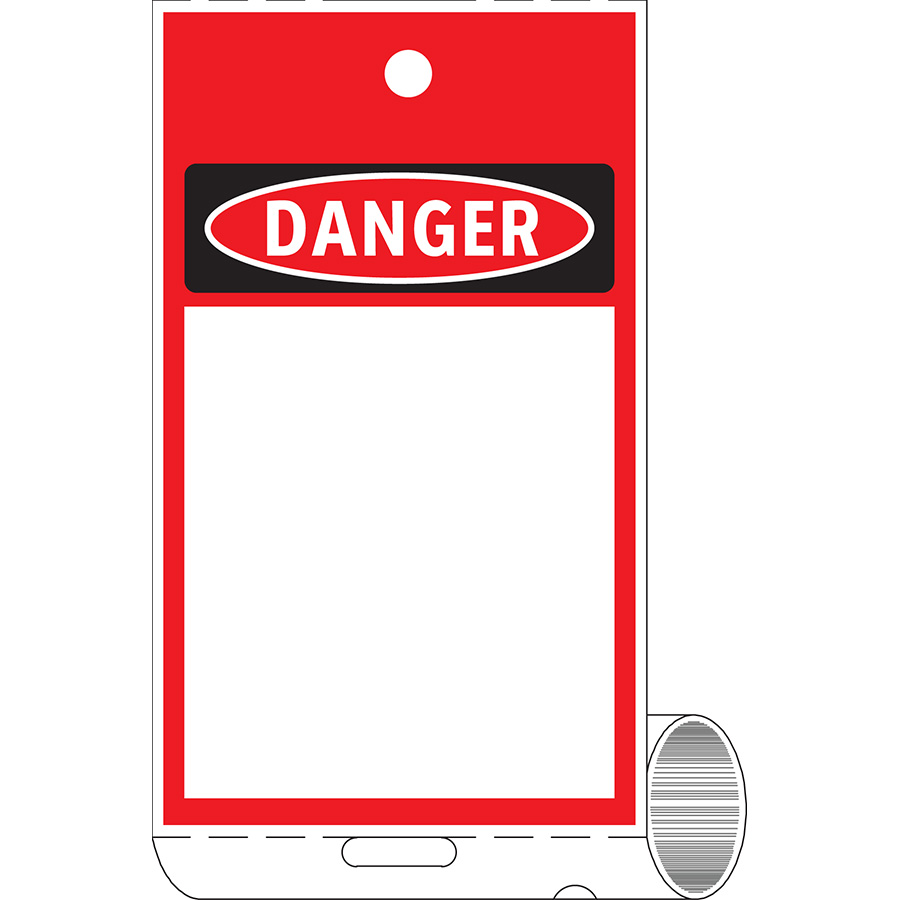 OSHA Danger Do Not Operate Shall be Subject to Disciplinary Action Print On-Demand Tag Roll